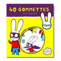 Simon Super lapin - 40 gommettes
