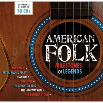 AMERICAN FOLK - MILESTONES OF LEGENDS/10CD