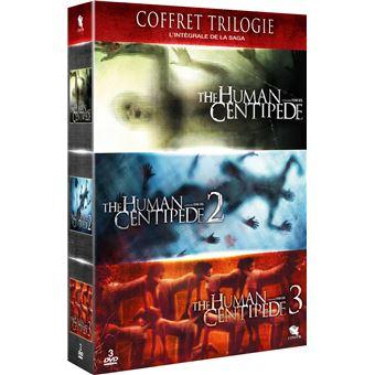 Coffret The Human Centipede La Trilogie DVD