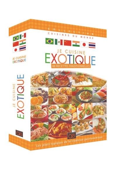 Coffret Je Cuisine Exotique Dvd