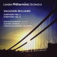 Vaughan Williams: Sinfonie 4 & Sinfonie 8