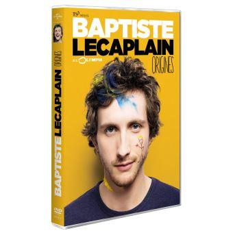 spectacle baptiste lecaplain origines