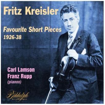 Petites pièces favorites pour violon