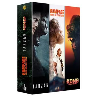 Coffret Grands singes 2.0 3 films DVD