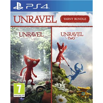 Pack Yarny Unravel 1+2 PS4