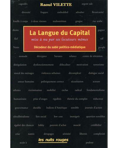 La langue du capital