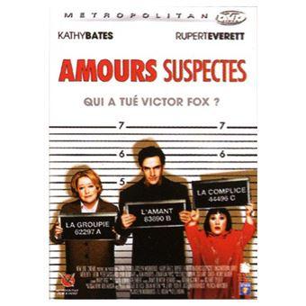 Amours suspectes DVD