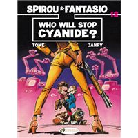 Spirou & Fantasio - tome 12 Who will stop Cyanide ?