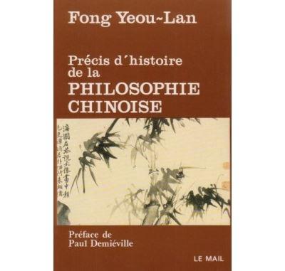 Précis d'histoire de la philosophie chinoise
