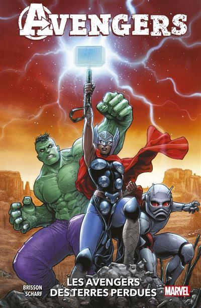 Avengers : Les Avengers des Terres Perdues - 9782809498752 - 11,99 €
