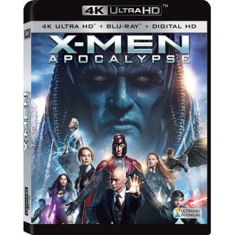 X-MenX-Men : Apocalypse Blu-ray 4K Ultra HD