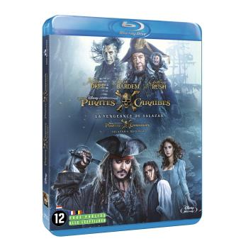 Pirate Des CaraïbesPirates des Caraïbes La vengeance de Salazar Blu-ray