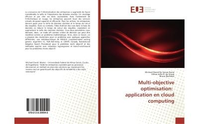 Multi-objective optimisation: application en Cloud computing