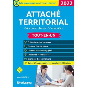 1cba72a10a4 Attaché territorial Tout-en-Un Concours interne et 3ème voie ...