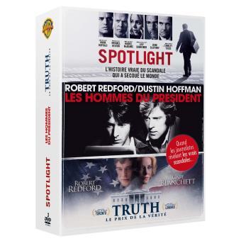 Coffret Spotlight, Les Hommes du Président, Truth, le prix de la vérité DVD