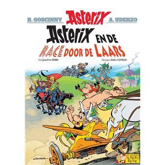 Asterix NLAsterix en de race door de laars
