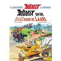 Asterix en de race door de laars