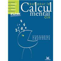 Tout pour le calcul mental Cm1 Guide pédagogique + CDROM