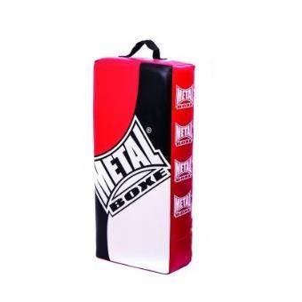 Noir//Blanc//Rouge METAL BOXE MB322L Bouclier Mixte Adulte Taille L