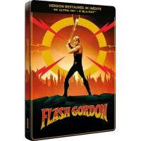 Flash Gordon Steelbook Édition 40ème Anniversaire Blu-ray 4K Ultra HD