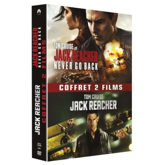 Jack Reacher Coffret 2 films DVD