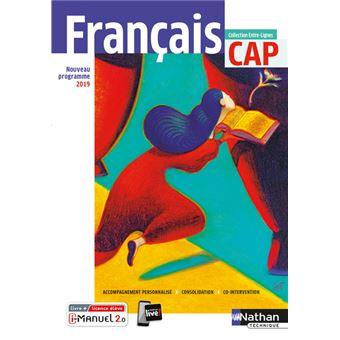Francais Cap Entre Lignes Livre Licence Eleve 2019