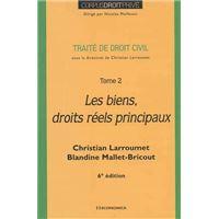 Les Biens. Droits réels principaux 5e édition - Christian Larroumet