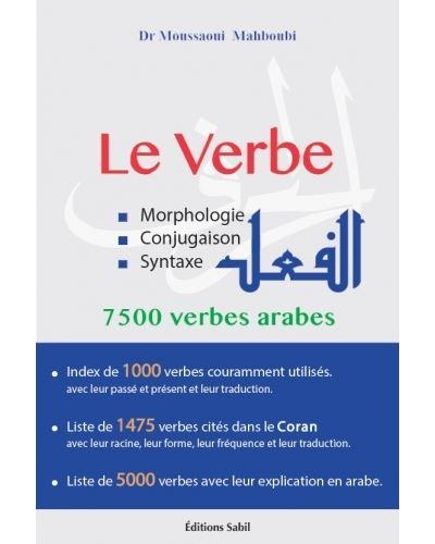 Le Verbe Morphologie Conjugaison Syntaxe 7500 Verbes Arabes Broche Mahboubi Moussaoui Achat Livre Fnac