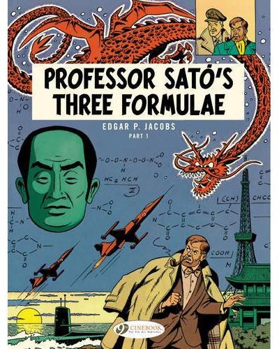 Blake & Mortimer - tome 22 Professor sato's three formulae partie 1