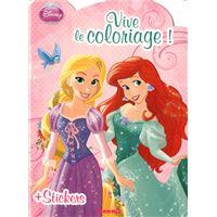 Vive le coloriage Disney Princesses