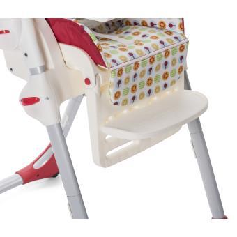 Chaise Haute Chicco Polly Easy Sunrise Rouge Et Blanc Produits