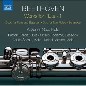 WORKS FOR FLUTE VOL. 1¿DUOS FOR FLUTE AND BASSOON