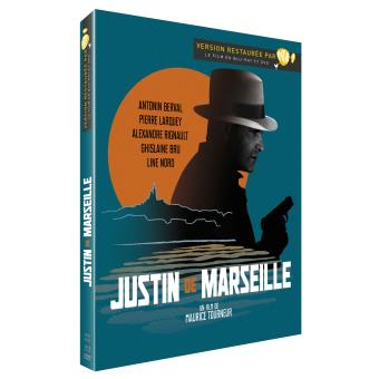 Justin de Marseille Combo Digipack Blu-ray + DVD