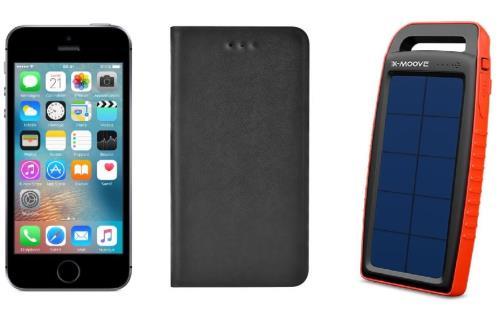 apple iphone se 128 go 4 gris sid ral etui blueway smartphonespaschers. Black Bedroom Furniture Sets. Home Design Ideas