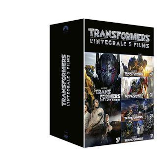 TransformersTransformers L'intégrale Coffret 1 à 5 DVD