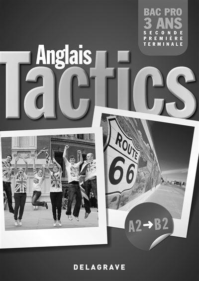 Tactics anglais niveau A2 B2 - Professeur