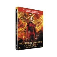 Hunger Games - La Révolte : Partie 1 et 2 Edition Spéciale Fnac Steelbook Blu-ray