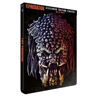 PredatorThe Predator Steelbook Edition Limitée Blu-ray