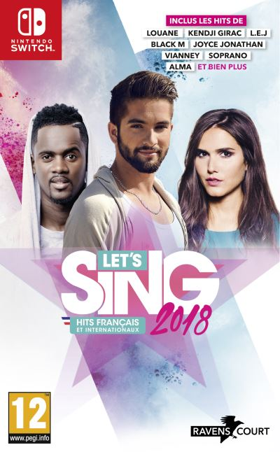 Let's Sing 2018 Nintendo Switch