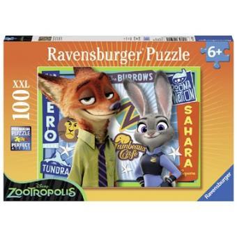Disney Zootropolis puzzel - 100 stukjes