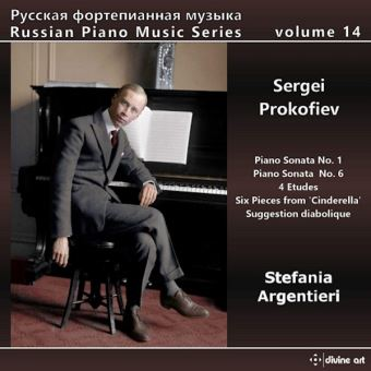 Russian Piano Music Series Volume 14 Piano Sonatas 1 and 6