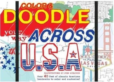 COLOUR & DOODLE YOUR WAY ACROSS THE USA