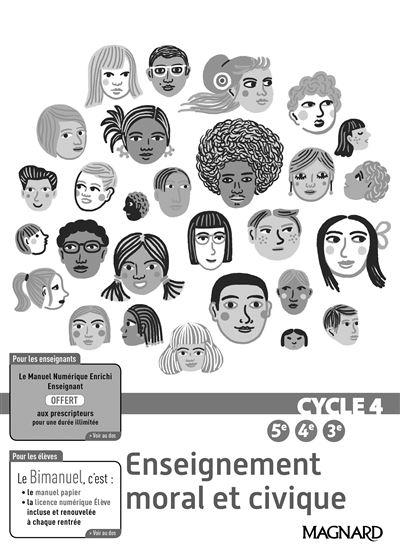 Enseignement moral et civique Cycle 4 - Magnard