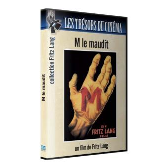 TRESORS DU CINEMA M LE MAUDIT FRITZ LANG-BLURAY-FR