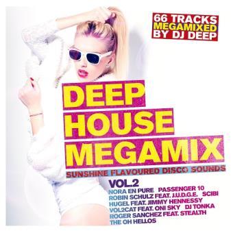 Deep House Megamix Vol.2 - Sunshine Flavoured Disco Sounds