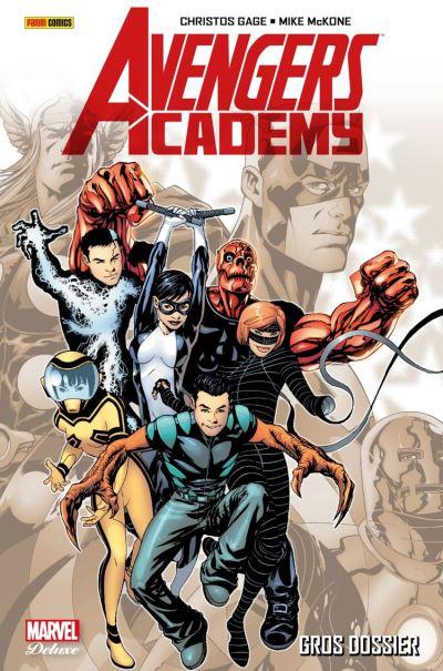 Avengers Academy (2010) T01 - Gros dossier - 9782809481976 - 21,99 €
