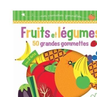 Coloriage Gommette Fruits Et Legumes.Fruits Et Legumes 50 Grandes Gommettes Avec 50 Grandes Gommettes