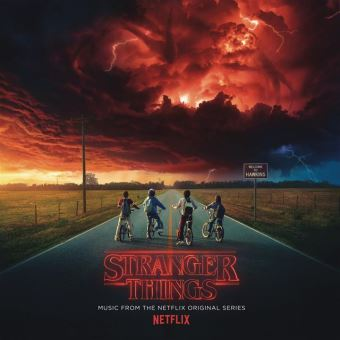 Stranger Things Double Vinyle Gatefold Inclus un poster et un sticker