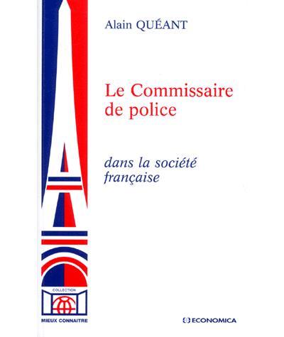 Commissaire de police dans la societe francaise