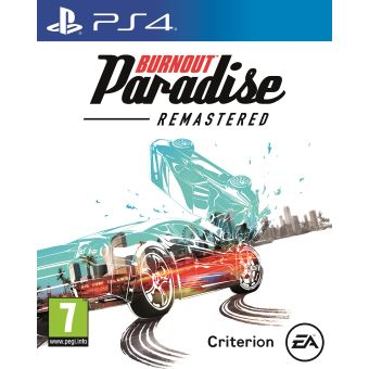BURNOUT PARADISE REMASTERED FR/NL PS4